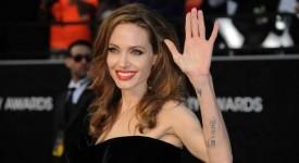 Angelina Jolie, la premiile Oscar 2012