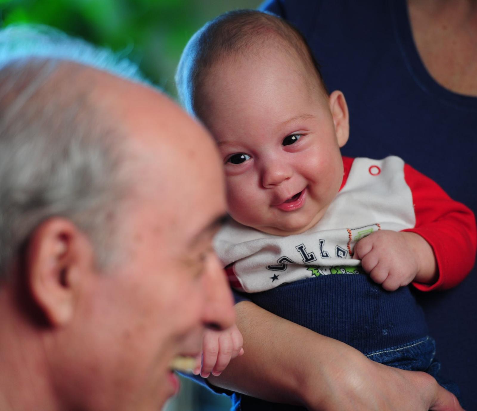 Andrei Partoș si fiul cel mic, Andrei-Ștefan