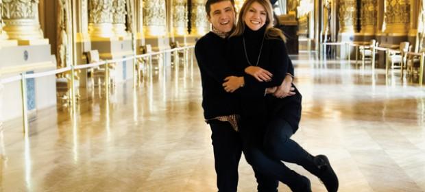 Alice Nastase Buciiuta si Paul Buciuta la Opera Garnier Paris