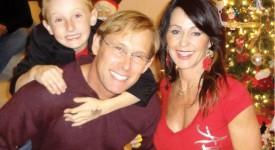 Nadia Comaneci cu fiul ei Dylan și soțul, Bart Conner