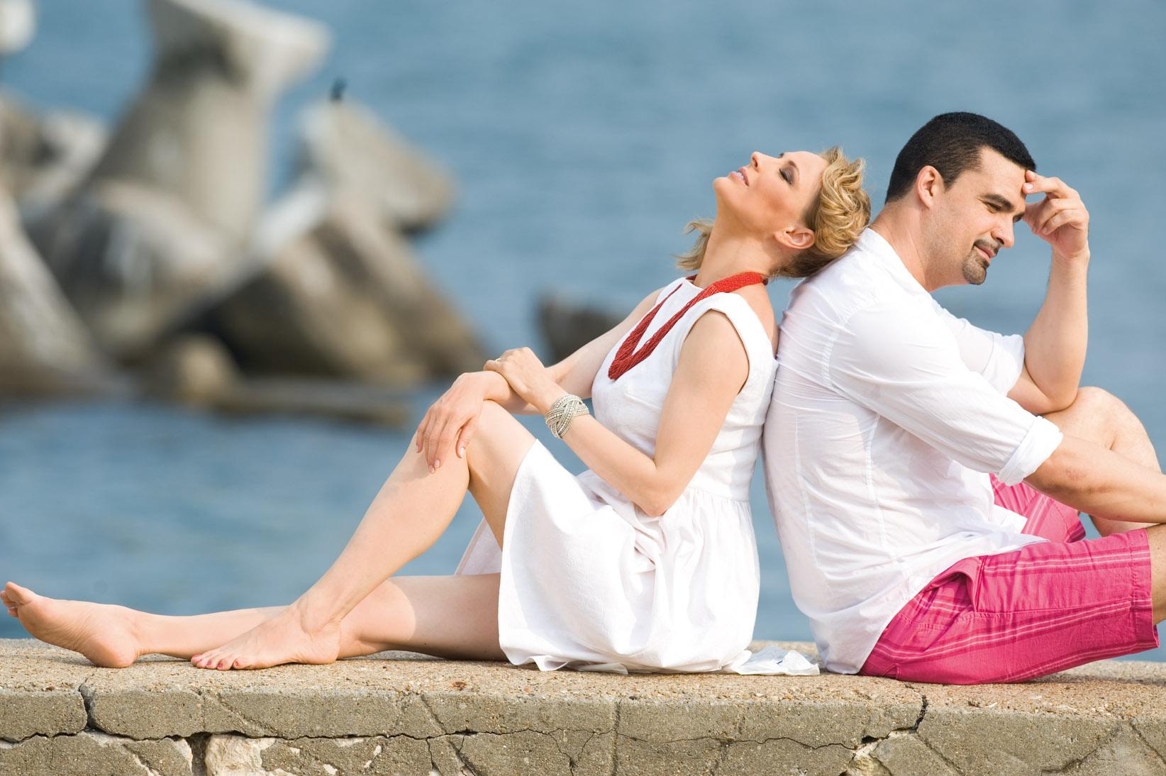 Pictorial cu Monica Davidescu și Aurelian Temișan pentru revistatango marea dragoste 72