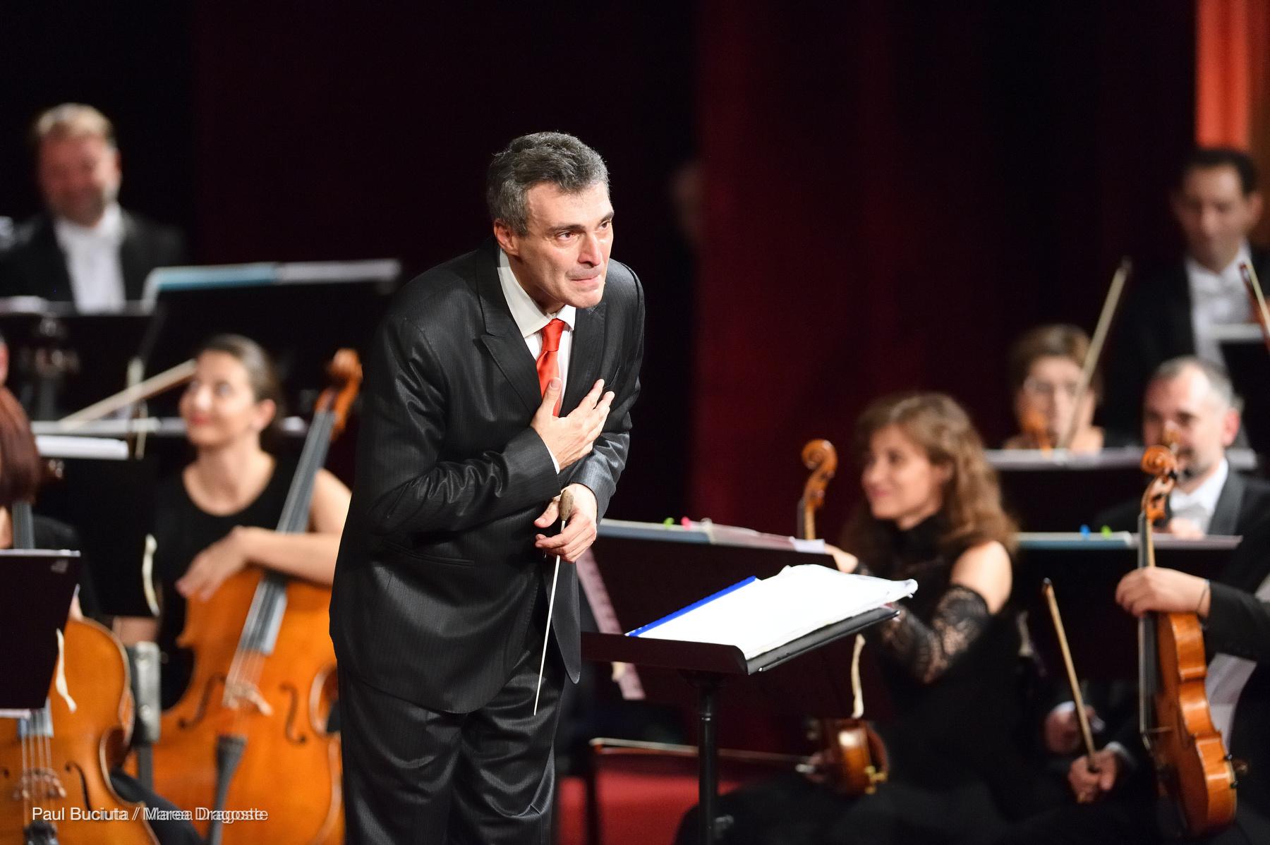 Marcello Mottadelli la Gala Extraordinară de Operă - deschiderea stagiunii 2016-2017 la Opera Nationala București