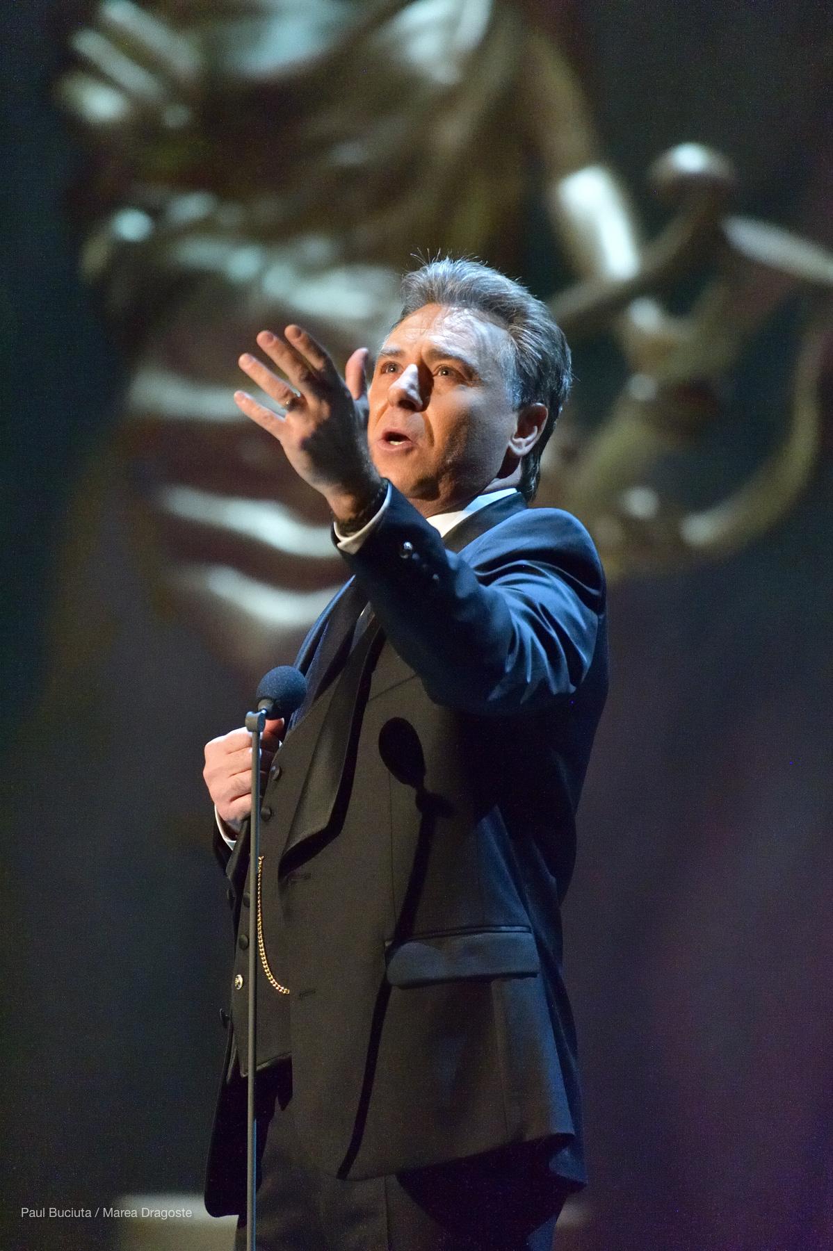Tenorul Roberto Alagna la Opera Națională București.
