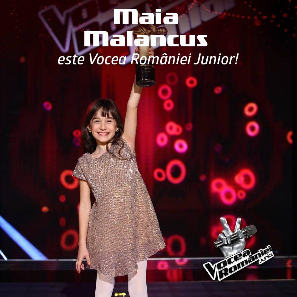 Maia Mălăncuș, artistă în corul Juniorii Operei din Iași, a