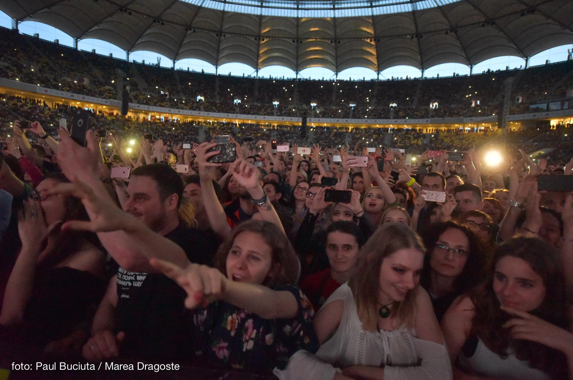 Concertul trupei Kings of Leon la Bucuresti