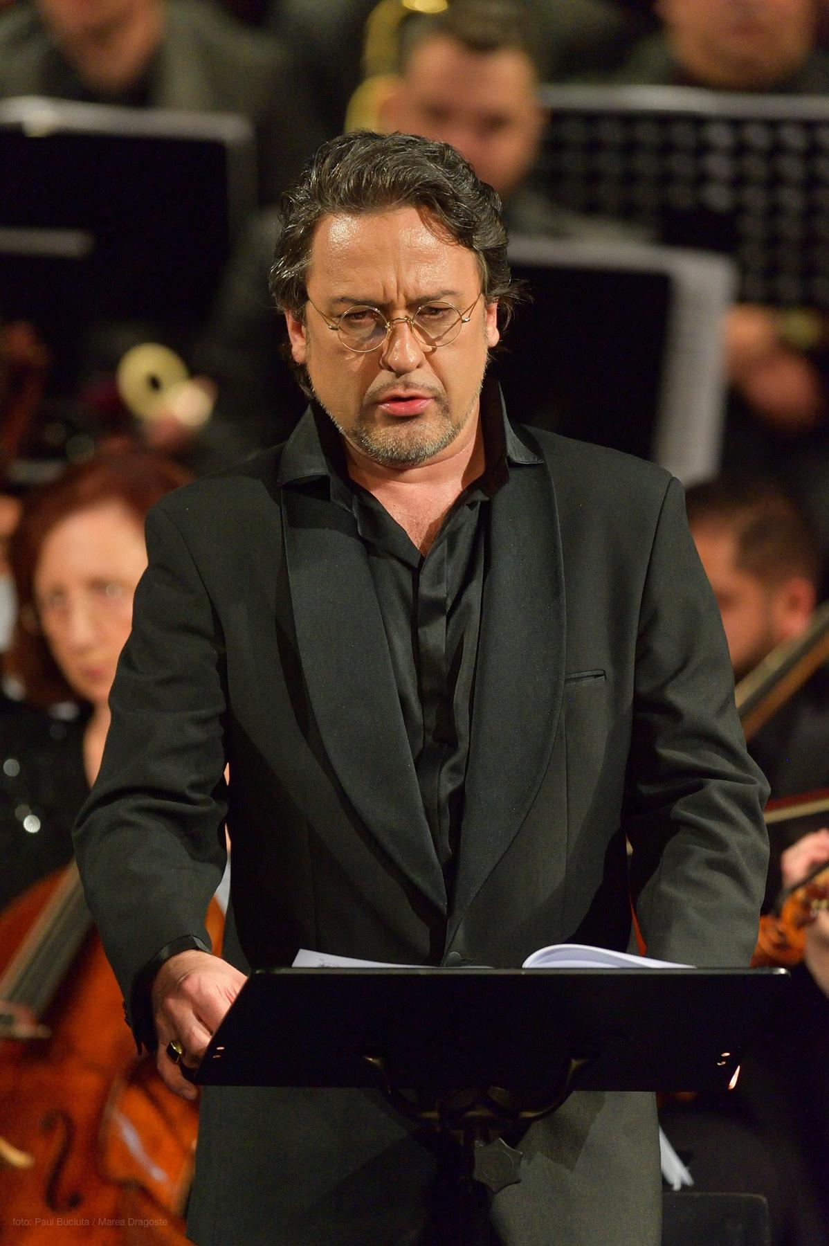 Marius Vlad Budoiu pe scena Operei Nationale Bucuresti in Messa Da Requiem de Giuseppe Verdi