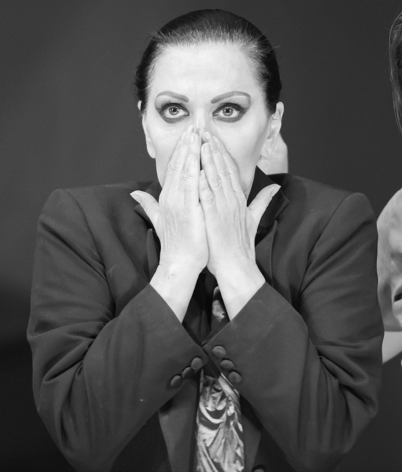 Beatrice Rancea pe coperta Marea Dragoste-revistatango.ro , nr. 136, februarie 2018