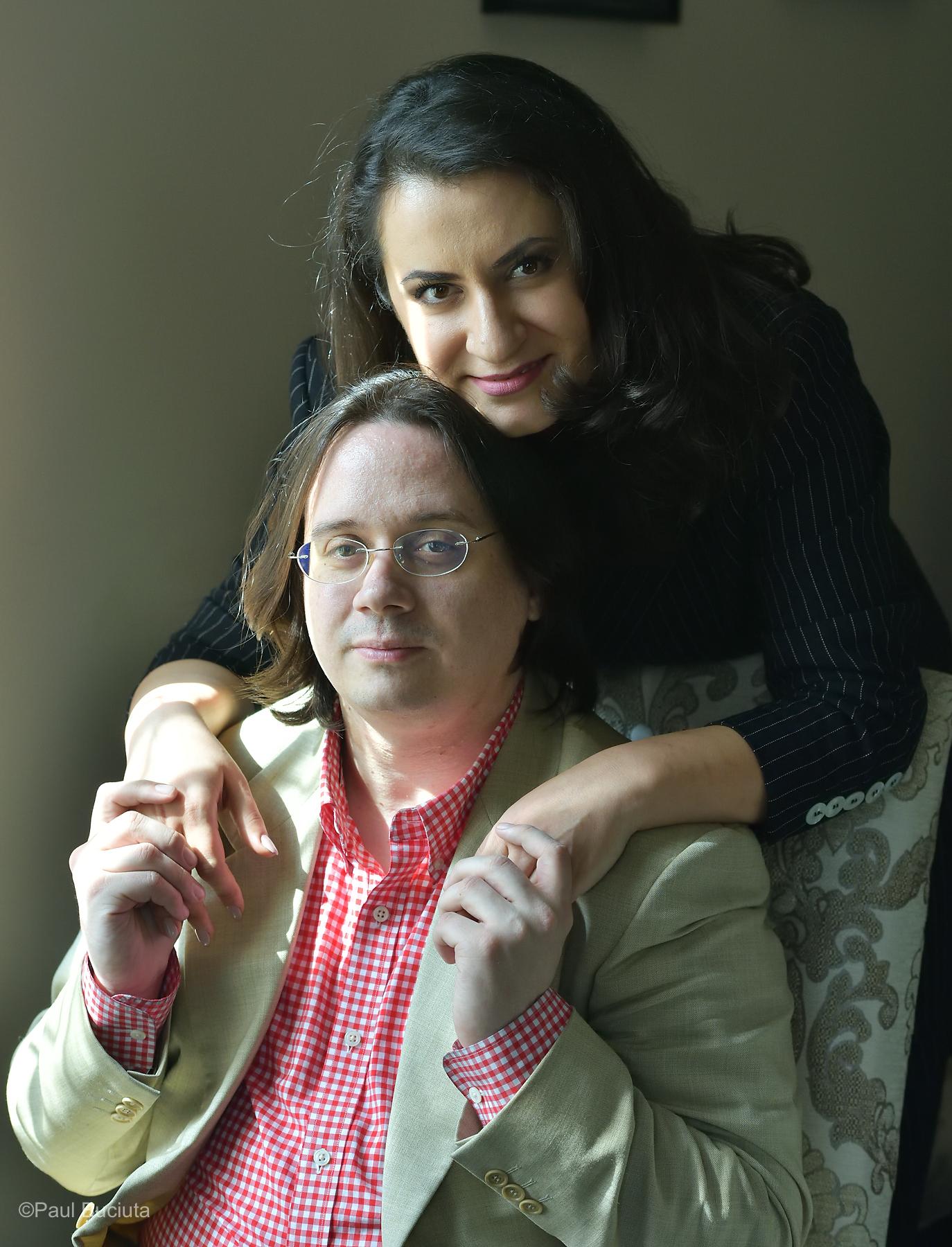 Rodica Vica si Gabriel Bebeselea