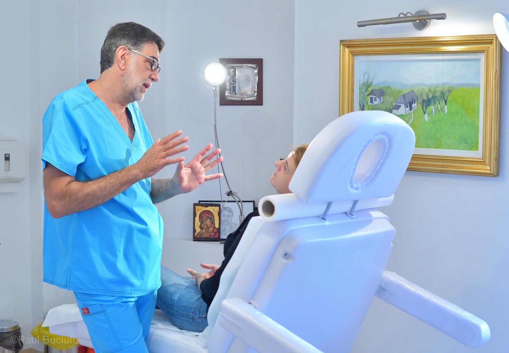 Dr. Dan Mihail Stana, chirurgie estetica, Clinica Efigia
