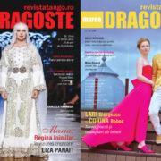 Manuela Harabor, Lari Giorgescu si Corina Boboc pe copertele Marea Dragoste-revistatango.ro, nr. 142, 2019