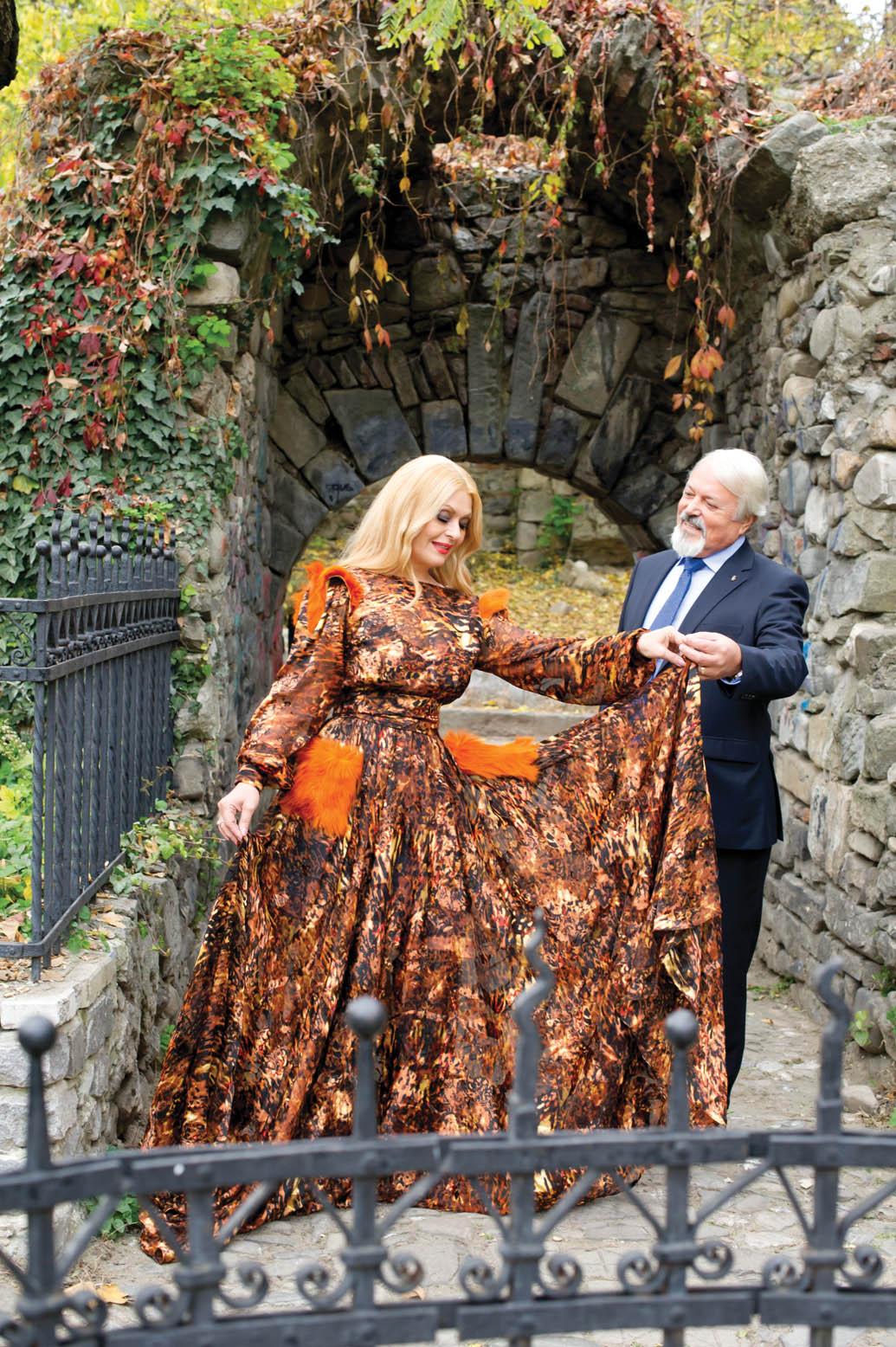 Viorica si Constantin Chiurciu, pictorial pentru revista tango - Marea Dragoste; Foto: Paul Buciuta / Marea Dragoste
