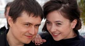 Cristian Mungiu si Cosmina Stratan
